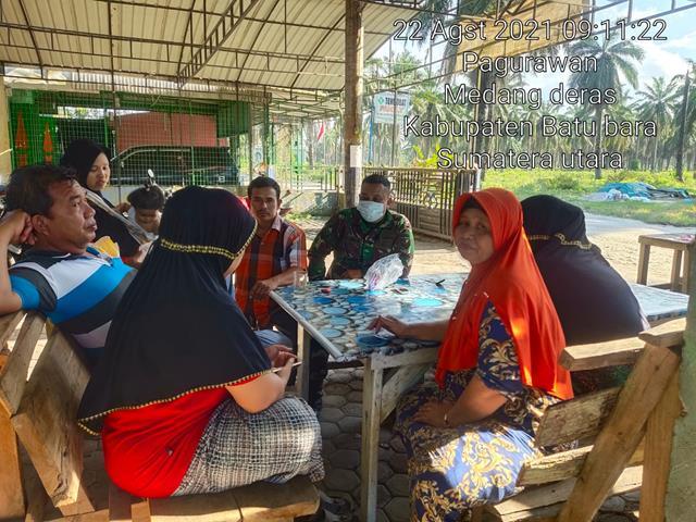 Dengan Komsos Personel Jajaran Kodim 0208/Asahan Sampaikan Himbauan Cegah Covid-19 Kepada Warga Binaan