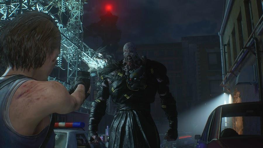 resident evil 3 remake screenshot image raccoon city jill valentine nemesis