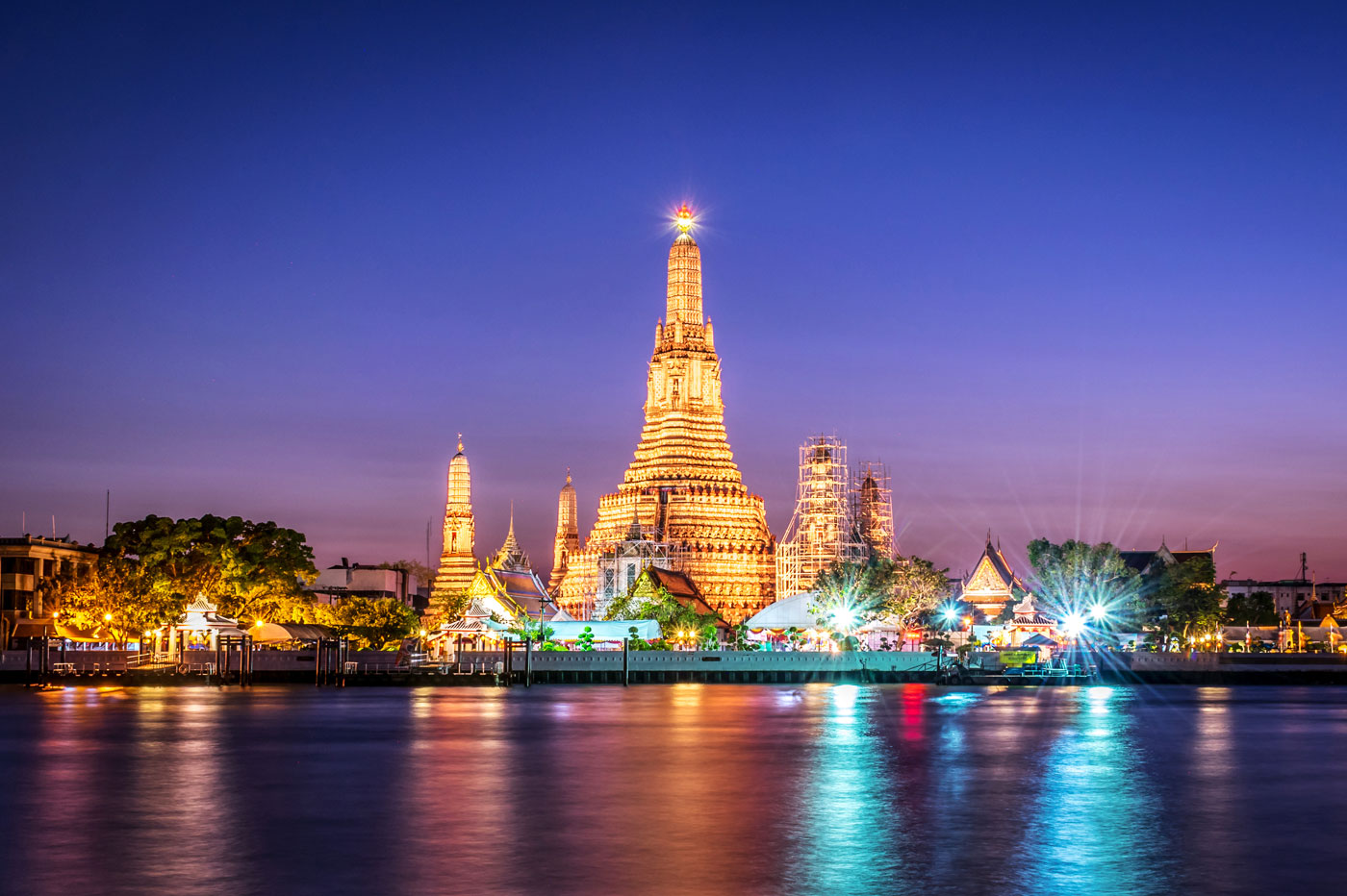 Wat Arun Temple in Thailand