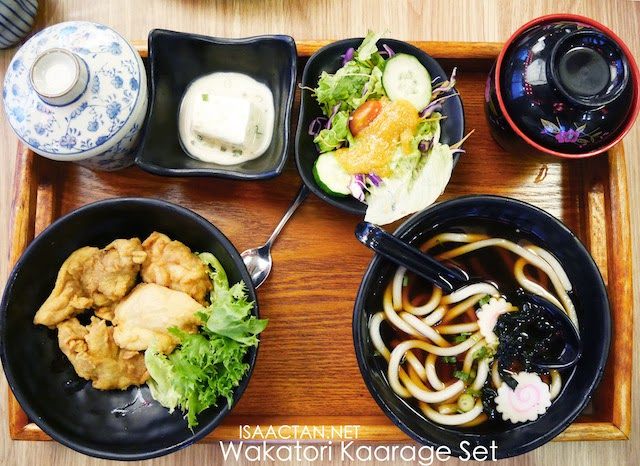 Wakatori Kaarage & Hot Udon Set - RM24.80