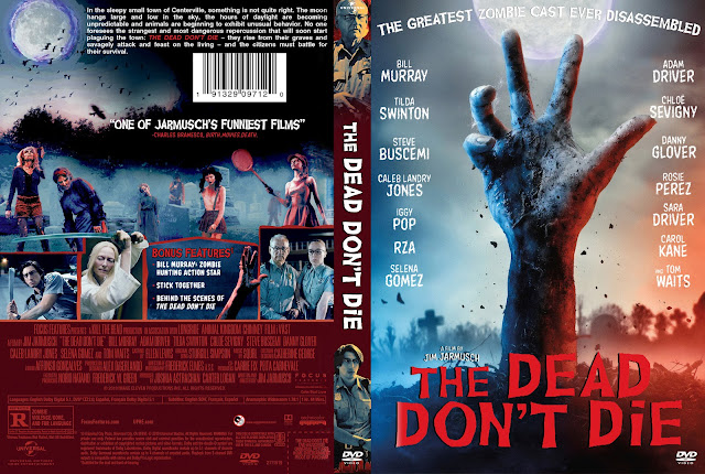 The Dead Don't Die DVD Cover