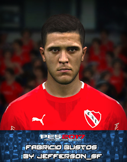PES 2017 Faces Fabricio Bustos by FaceEditor Jefferson_SF