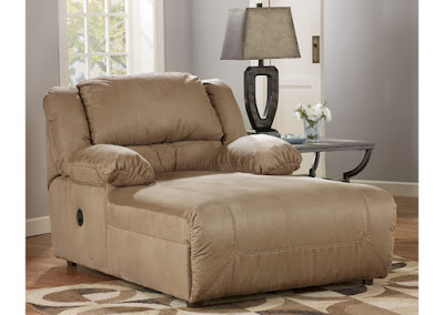 modern beige living room chaise