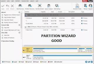 تحميل برنامج 11.5 MiniTool Partition Wizard V مجاني مدى الحياه | لصيانة الهارد ديسك وحمايتة