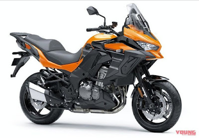 Kawasaki Versys 1000 Anyar Mulai Dijual