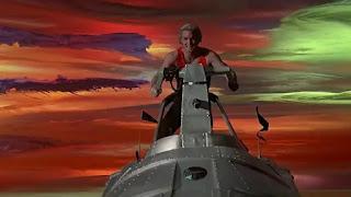 Una escena de la película Flash Gordon