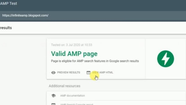 How to enable Amp blogger and WordPress website