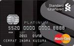 Kartu Kredit Standard Chartered MasterCard Platinum