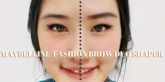 Review Pensil Alis Maybelline Fashion Brow Duo Shaper - ALICE OLICE