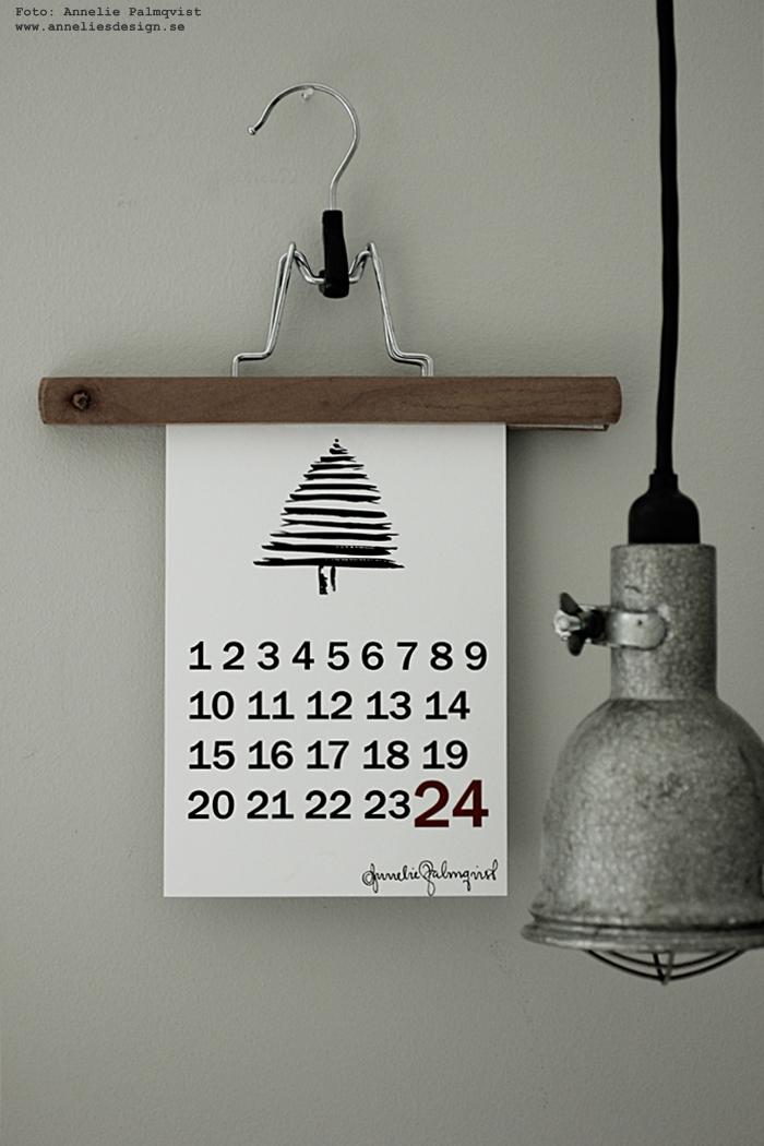 räkna ner poster, posters, print, prints, kalender, almanacka, december, annelies design, webbutik, webbutiker, webshop, nätbutik, nätbutiker, nettbutikk, nettbutikker, plakat, plakater, jul, julen 2016, advent, julpynt,