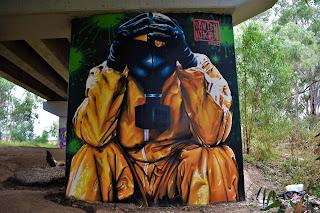 Wagga Wagga Street Art by Damien Mitchell