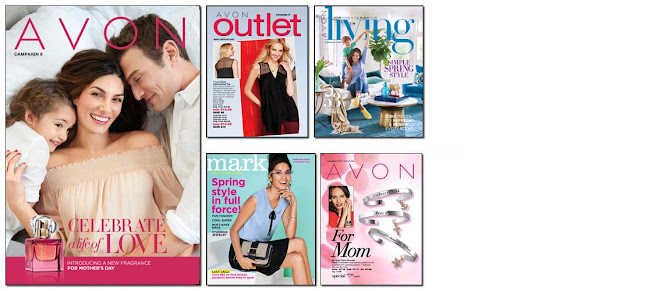 Avon Campaign 9 becomes active online to shop on 4/1/17 - 4/15/17. Click on image or here >>>