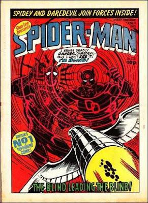 Spider-Man Comic #326, Daredevil