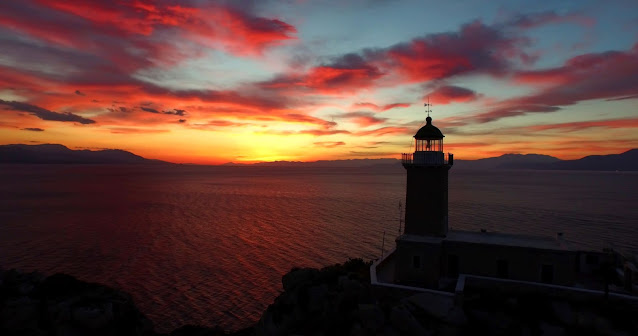 Lighthouse at Dusk by George Xistris on Unsplash