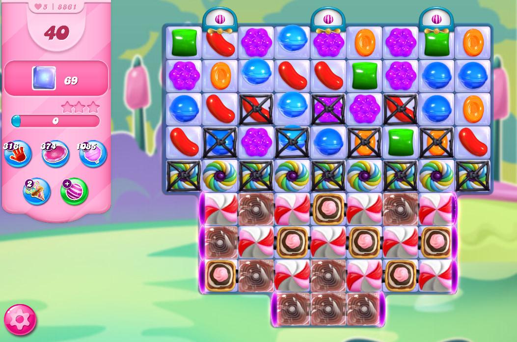 Candy Crush Saga level 8861