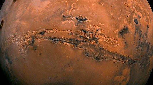 catástrofe climática en Marte