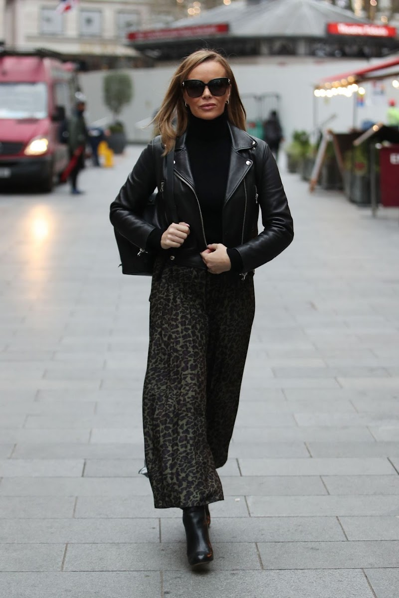 Amanda Holden  Spotted at Global Radio in London  10 Dec-2020
