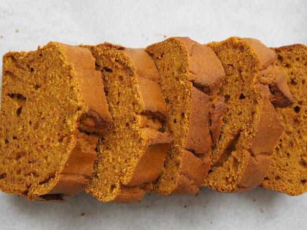 REZEPT: süßes Kürbisbrot (glutenfrei + vegan)