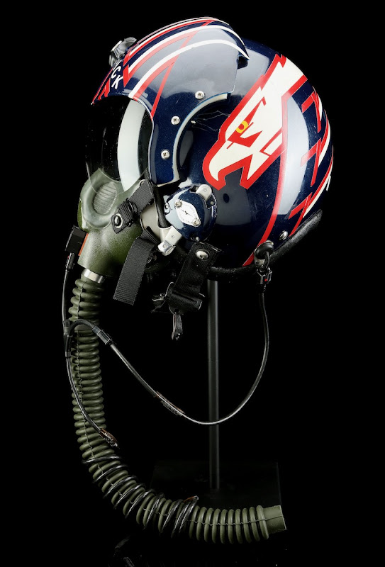 Top Gun Maverick fighter pilot helmet