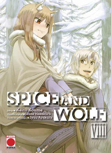 Review de Spice and Wolf Vol.8 de Keito Koume - Editorial Panini