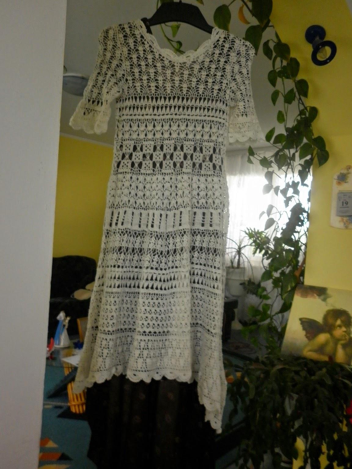 512be50a98 Janeczkowo  Szydełkowa sukienka ślubna i chyba porażka