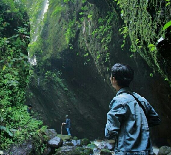 Tempat Wisata Curug Citiis Padakembang Cisayong Tasikmalaya