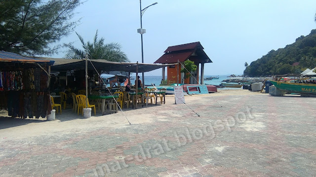 Tempat Makan Murah di Kampung Nelayan Pulau Perhentian Terengganu