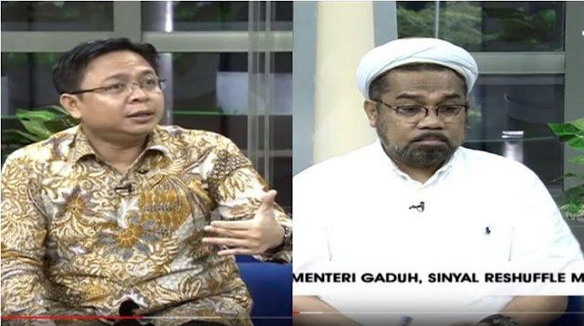 Kritisi Menteri Jokowi, Burhanudin Muhtadi Singgung Ali Ngabalin: Kasihan Jadi Bemper Terus
