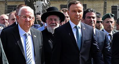 Polônia participou do Holocausto diz presidente israelense