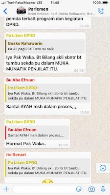 Bukti Whatsapp