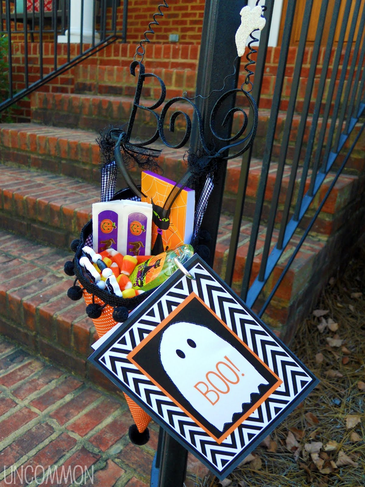 How To Boo Your Neighbor A Free Printable