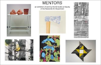 MENTORS exhibition in the Carroll Gallery
