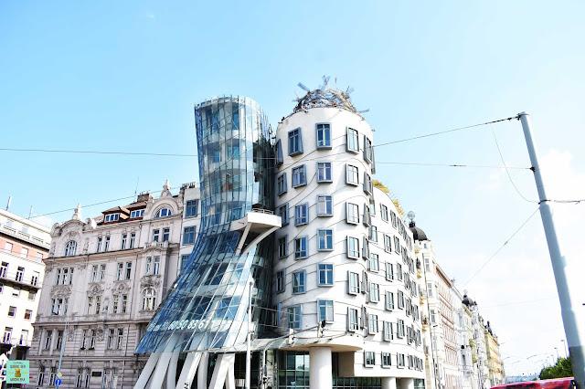 Casa Danzante en Ciudad Nueva de Praga