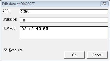 Gambar 8. Memasukan nilai A2124000