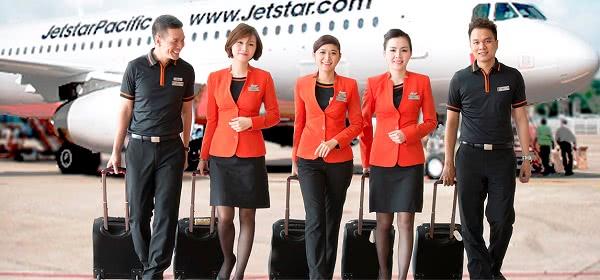 Đồng phục tiếp viên Jetstar Pacific Airline