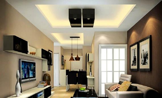 desain plafon ruang tamu sederhana sederhana