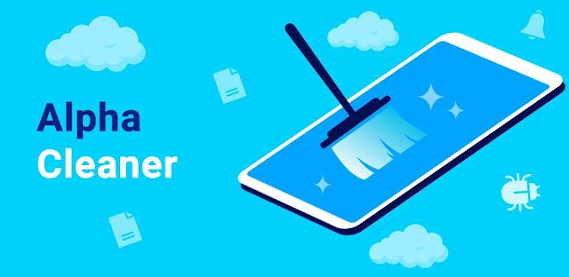 تنزيل Alpha Cleaner: Memory Booster برنامج تنظيف الهاتف من الفيروسات وتسريعه