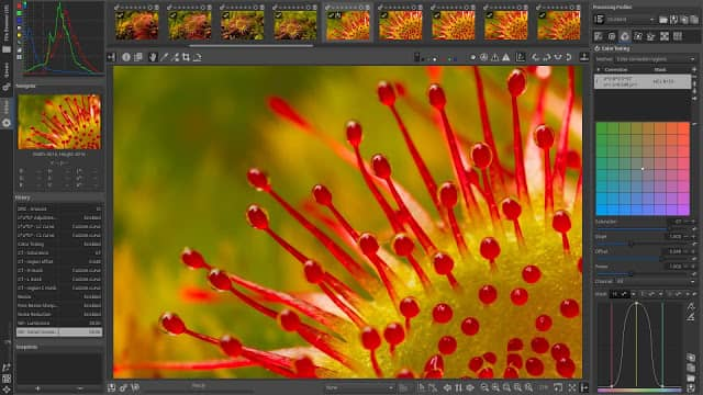 raw therapee alternativa a Lightroom Adobe