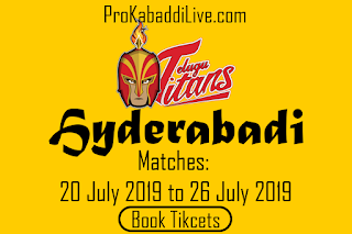 Hyderabad Kabaddi Tickets Booking | Pro Kabaddi Hyderabad Tickets Booking