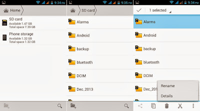 Cherry Mobile Amber File Manager