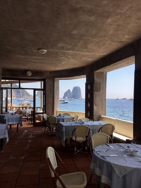 The best swimming pool in Capri - La Canzone del Mare