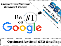 Optimasi Artikel SEO One Page
