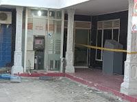Kali ini Kawanan Pencuri Bobol Mesin ATM BRI di Kalianda