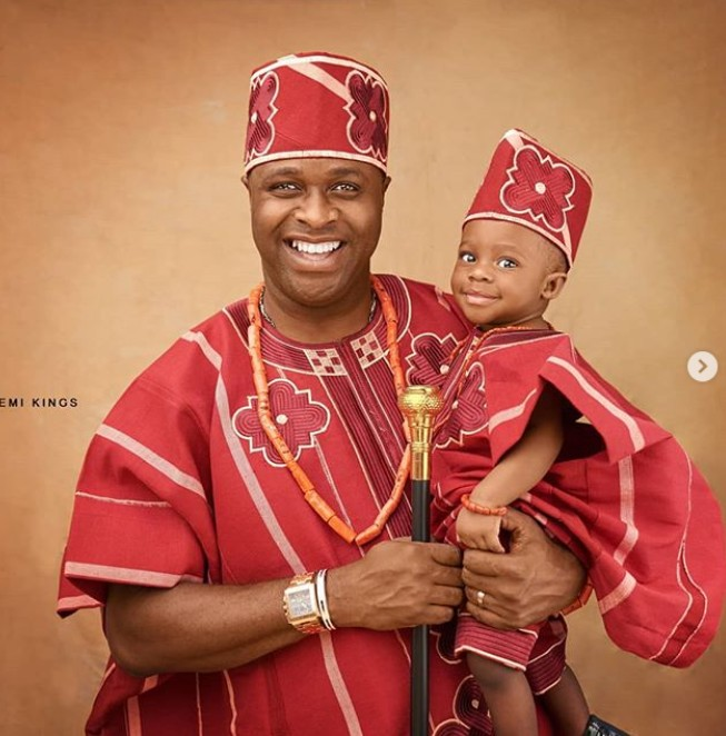 Femi Adebayo's Son Is 1, See Adorable Photos