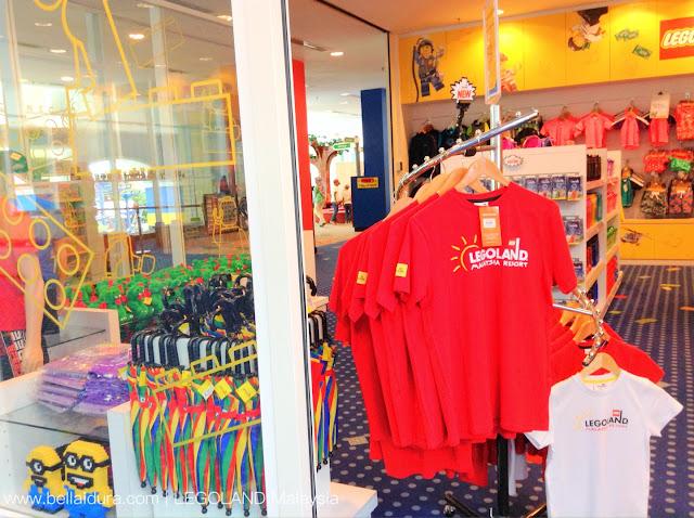 Legoland Malaysia, percutiaan ke Legoland