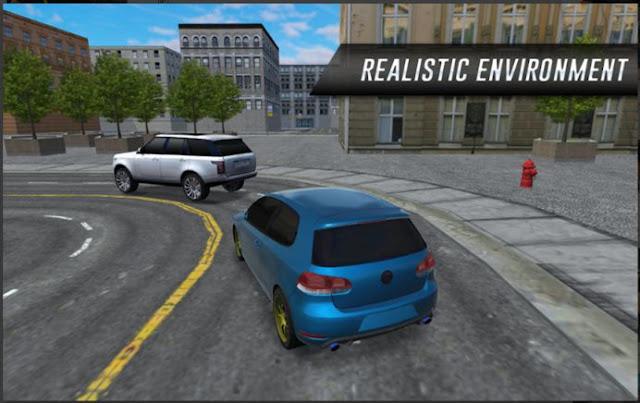 Permainan Balapan Mobil 3D Car Driving In City Mod Apk