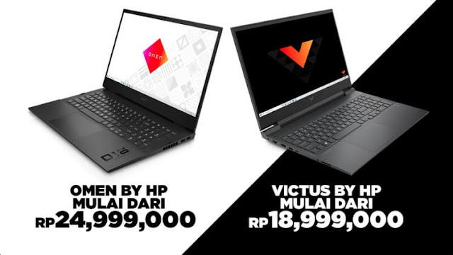 harga dan ketersediaan hp laptop gamin omen dan victus