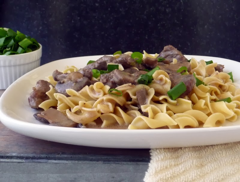 Delicious Beef Stroganoff | by Life Tastes Good uses lots of fresh ingredients for maximum flavor! #noodles #homemade