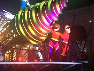 Incredibles Paint the Night Float Disney California Adventure