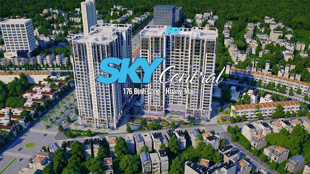 Hình ảnh tổng quan về chung cư Sky Central - Chung cư 176 Định Công